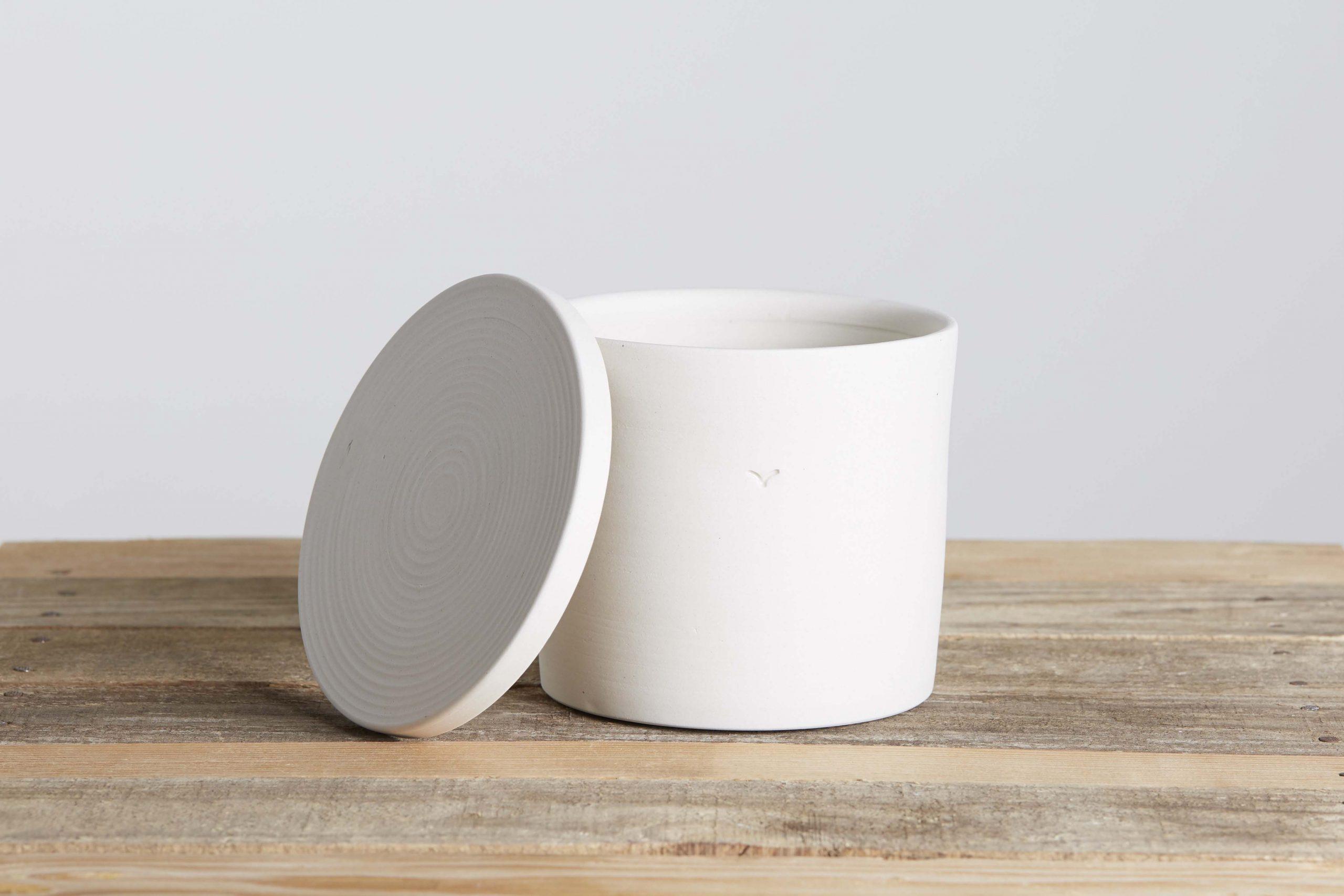 una scatola in ceramica - artigianale - Federica Ramacciotti