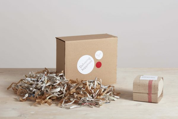 two boxes and some wrapping paper - handmade - Federica Ramacciotti